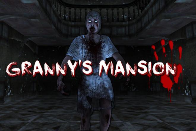 Исходник игры Granny Mansion. unity package 2 - kwork.ru