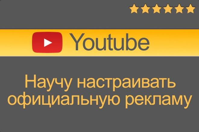 Научу настраивать официальную рекламу на youtube по skype 1 - kwork.ru