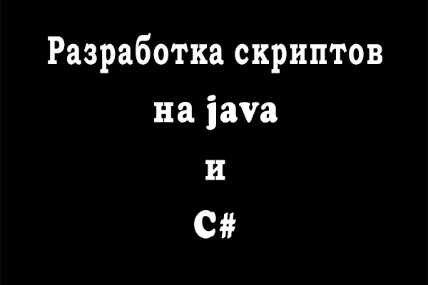 Напишу скрипты на java, bash и js 1 - kwork.ru