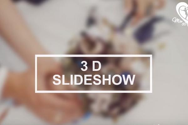 3D Слайд-шоу фото