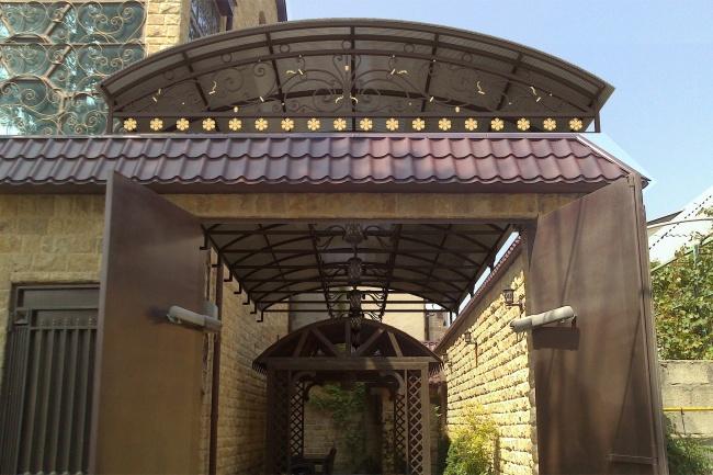 Сделаю 3d модель кованных лестниц, оград, перил, решеток, навесов 22 - kwork.ru