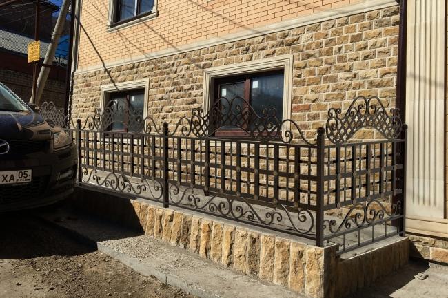 Сделаю 3d модель кованных лестниц, оград, перил, решеток, навесов 23 - kwork.ru