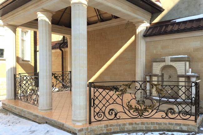 Сделаю 3d модель кованных лестниц, оград, перил, решеток, навесов 24 - kwork.ru