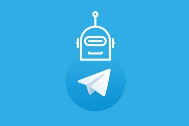 Создам telegram бота 1 - kwork.ru
