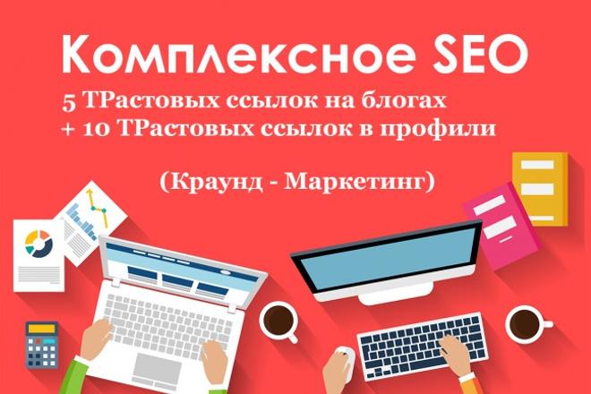 Естественные ссылки на ваш сайт 1 - kwork.ru