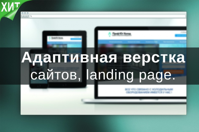 Адаптивная верстка html/css (мобильные сайты, landing page) 3 - kwork.ru
