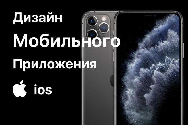 Дизайн мобильного приложения на IOS 9 - kwork.ru