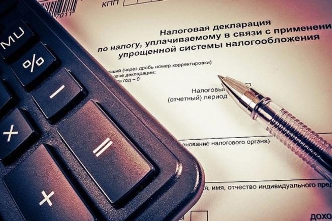 Декларация, расчет в ифнс, фсс и статистику 1 - kwork.ru