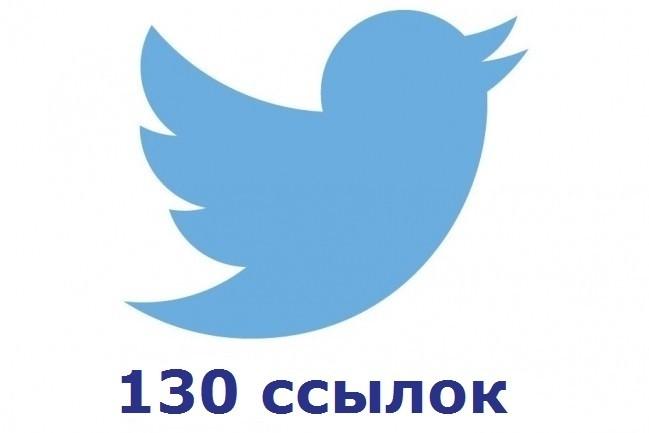 130 ссылок на Ваш сайт из социальной сети Твиттер 1 - kwork.ru