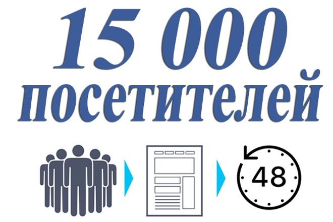 15 000 уникальных посетителей на сайт с поисковых систем за 48 часов 1 - kwork.ru