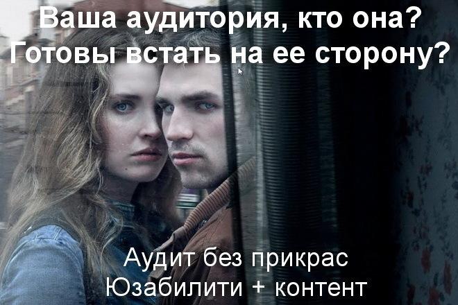 Нестандартный аудит лендинга глазами продвинутого представителя ЦА 1 - kwork.ru