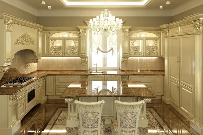 Дизайн и визуализация кухни 8 - kwork.ru