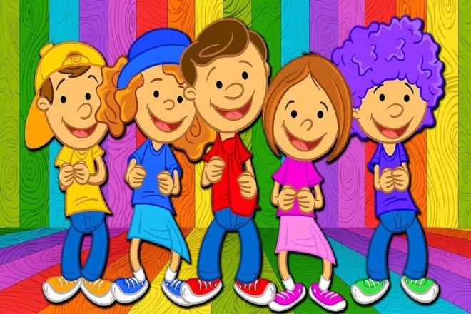 Детские голоса для озвучки песен, рекламных роликов, игр, фильмов 1 - kwork.ru