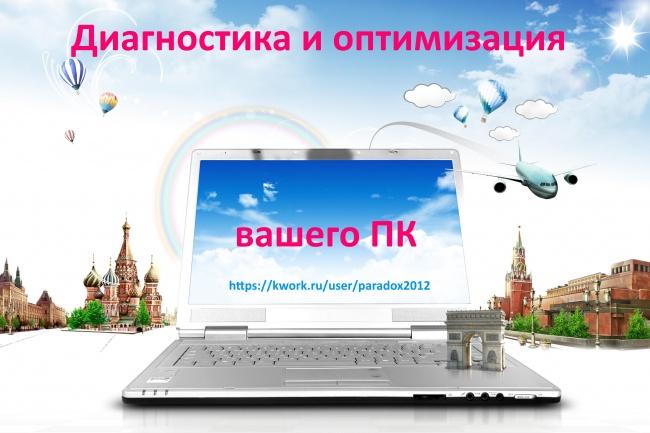 Диагностика и оптимизация вашего ПК 1 - kwork.ru