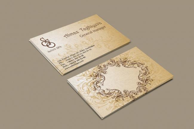 3 варианта дизайна визитки 104 - kwork.ru