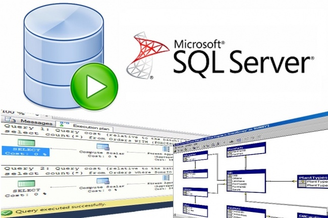 Создам базу данных MS SQL под ключ 1 - kwork.ru