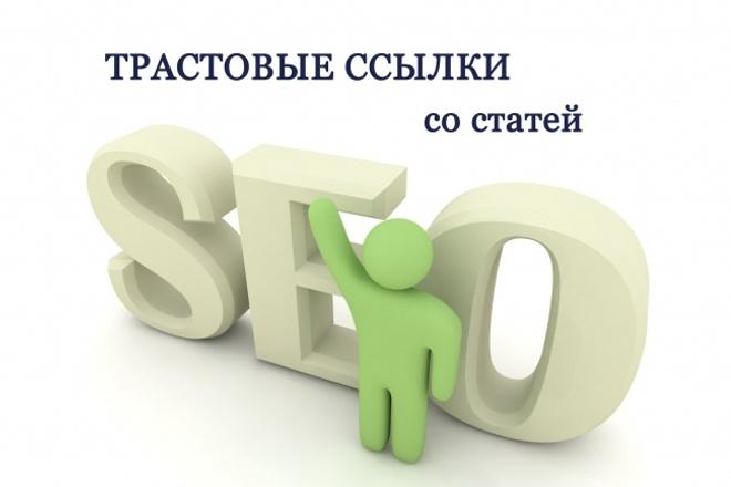 9 вечных статейных ссылок с закрытой сетки трастовых сайтов 1 - kwork.ru