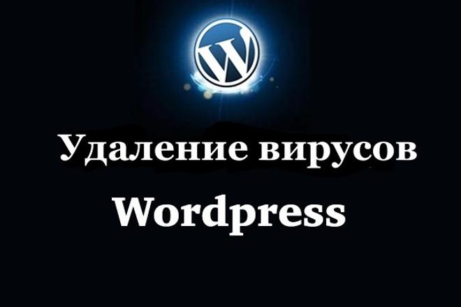 Удалю вирусы с Wordpress 1 - kwork.ru