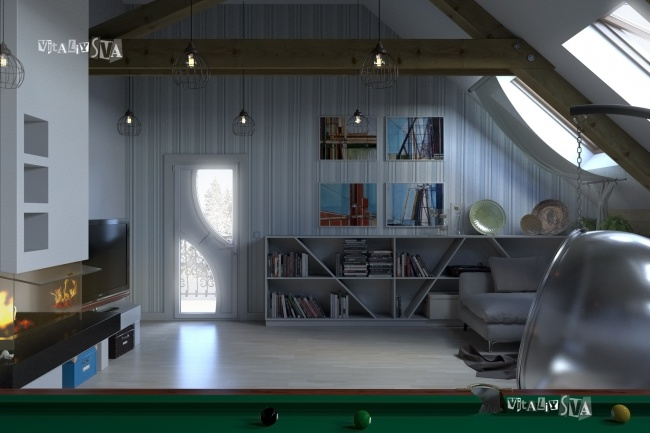 3D визуализацию интерьера 5 - kwork.ru