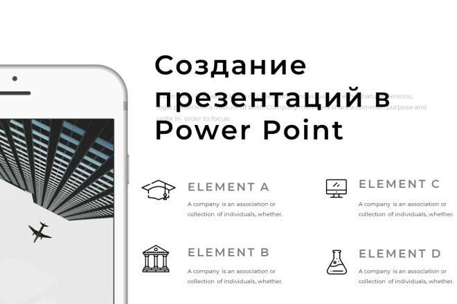 Сделаю презентацию, дизайн презентации 4 - kwork.ru