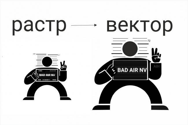 Сделаю отрисовку в вектор 42 - kwork.ru