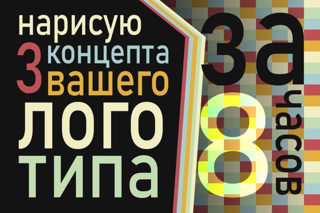 3 варианта логотипа за 8 часов 20 - kwork.ru