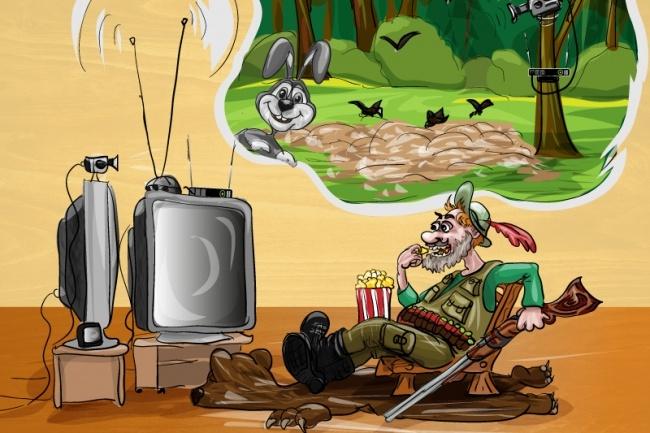 Нарисую карикатуру 9 - kwork.ru