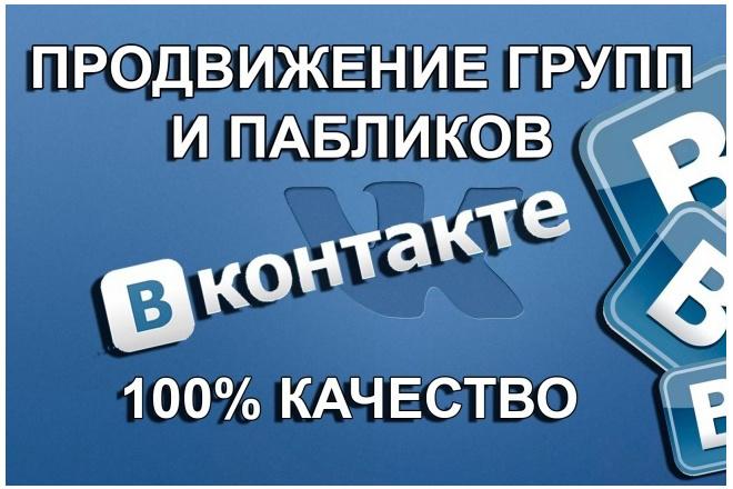 Подписчики, лайки, комменты ВК+ 1 - kwork.ru