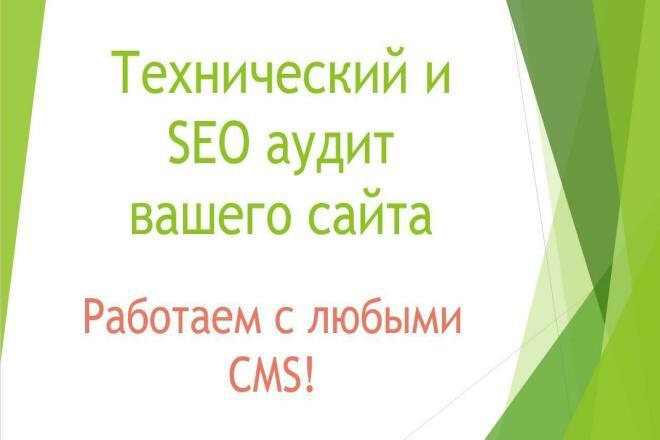 Полный анализ вашего сайта 1 - kwork.ru