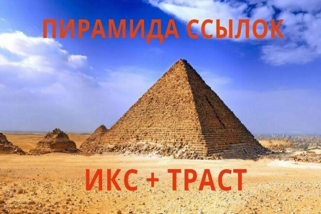 Пирамида ссылок для вашего сайта 1 - kwork.ru