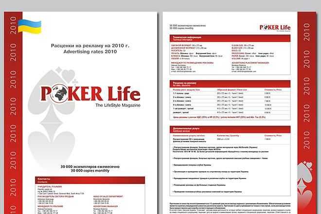Рекламная листовка, флаер (А4, А5, А6, евро) 11 - kwork.ru