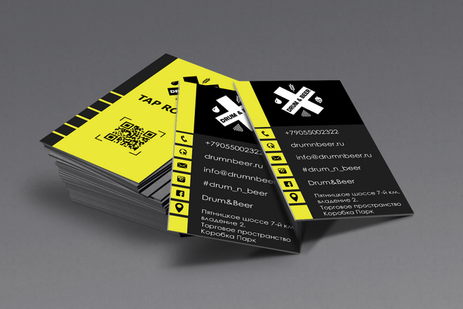 Разработаю красивый, уникальный дизайн визитки в современном стиле 116 - kwork.ru