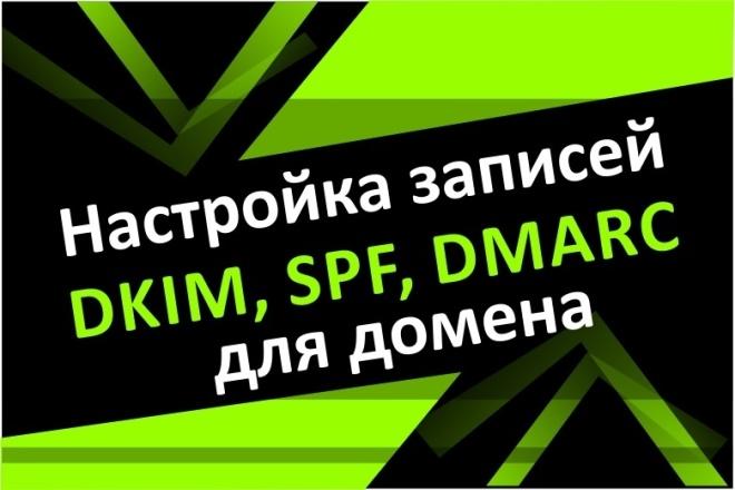 Настройка SPF, DKIM, DMARC для домена Вашей корпоративной почты 1 - kwork.ru