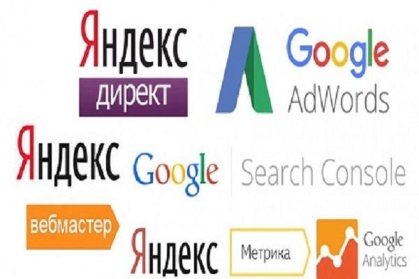 Подключение и настройка Янд.Метрики, GoogleAnalytics, Янд Вебмастер 1 - kwork.ru