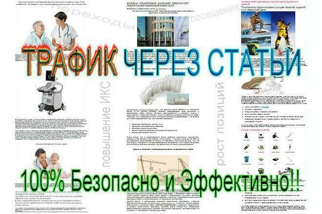 1000 посещений из Статейных доноров - 100% Безопасно и эффективно 1 - kwork.ru