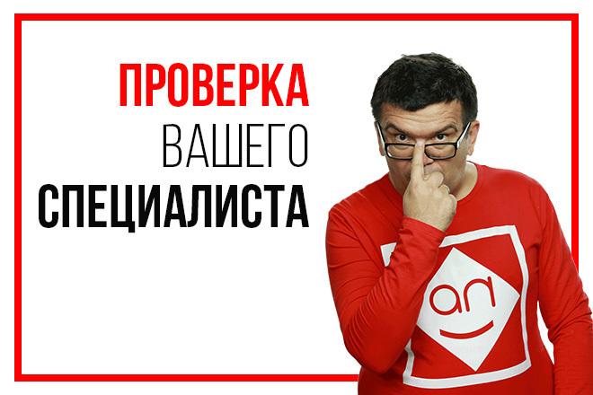 Экспресс-аудит работы вашего специалиста по раскрутке и продвижению 1 - kwork.ru