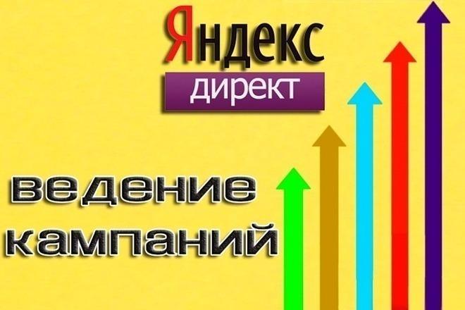 Ведение рекламной кампании Яндекс Директ 1 - kwork.ru