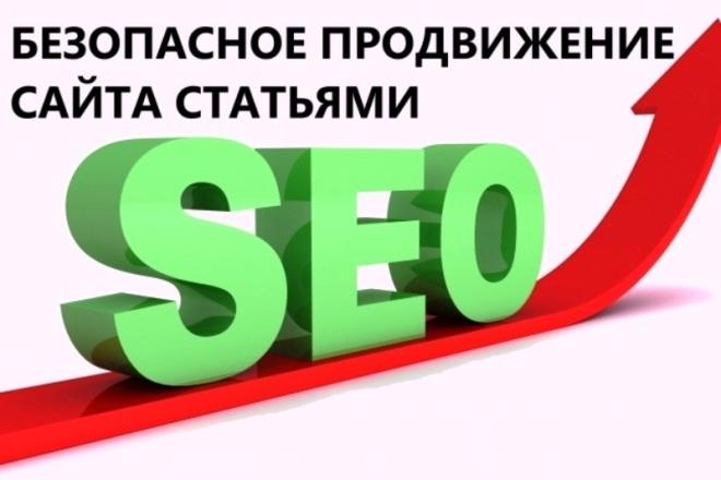 Продвижение сайтов на тему видеонаблюдение, сигнализации, охрана 1 - kwork.ru