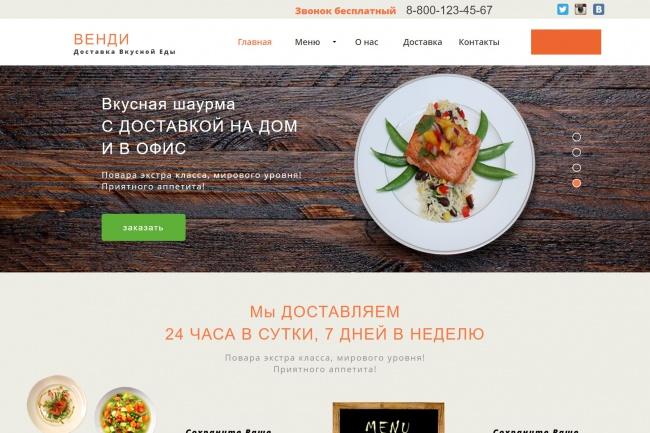 Создание продающих Lаnding Page посадочной страницы для Вашего бизнеса 5 - kwork.ru