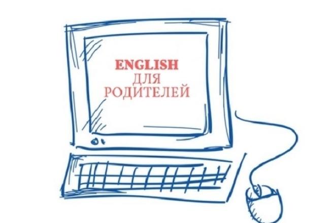 Английский для родителей по Skype 1 - kwork.ru