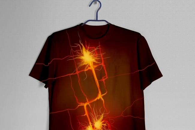 Дизайн футболки 6 - kwork.ru