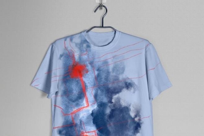 Дизайн футболки 4 - kwork.ru