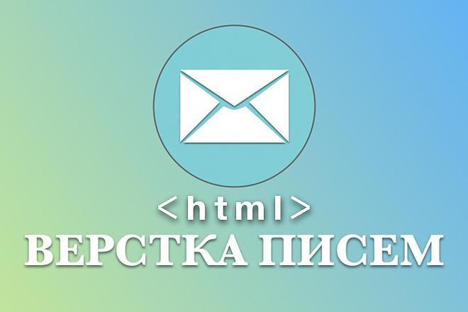 Сверстаю адаптивное HTML письмо для рассылки. Сделаю дизайн 4 - kwork.ru