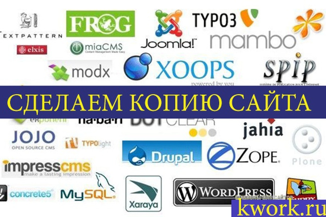 Скопирую любой сайт в html формат 69 - kwork.ru