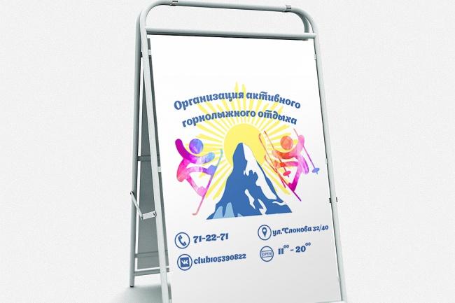Разработаю афишу или билборд для наружной рекламы 3 - kwork.ru