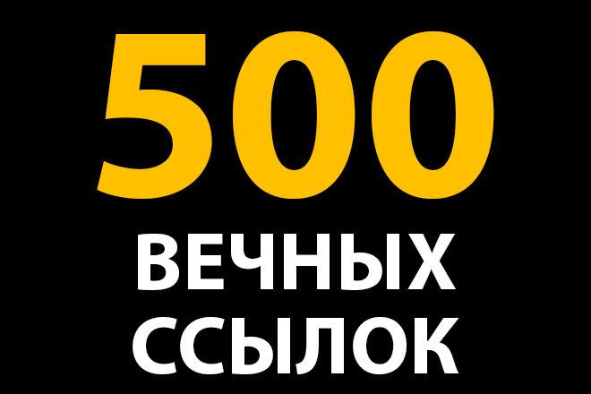 Вечные ссылки на сайт - прогон Хрумером 1 - kwork.ru