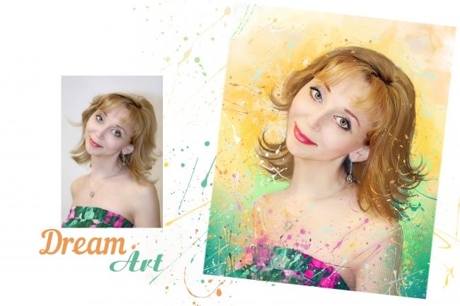 Dream Art портрет 2 - kwork.ru
