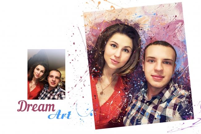 Dream Art портрет 3 - kwork.ru