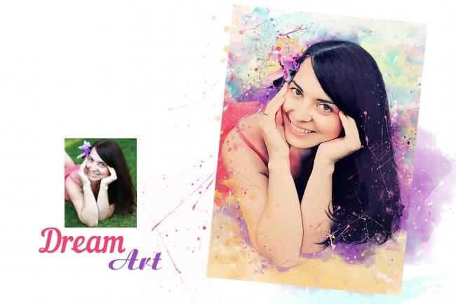 Dream Art портрет 4 - kwork.ru