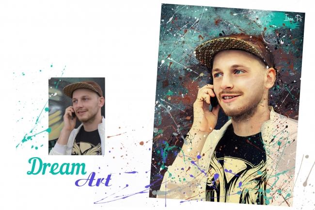 Dream Art портрет 6 - kwork.ru